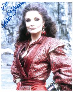 Kate O'Mara DOCTOR WHO Genuine Signed Autograph 10 x 8 COA 10411